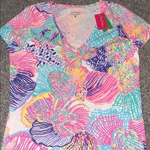 NWT Lilly Pulitzer Michele Top